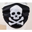 Planet X Face Mask / On-One Skull Black