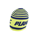 Planet X Team Carnac Beanie / Yellow and Blue (No Bobble) / One Size