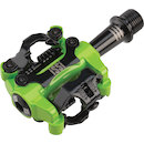 ISSI Pedal 2 Triple Bearing Dual Sided SPD Pedal / Lime Green