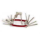 Jobsworth 11 Function Multitool / Red