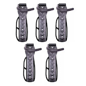 5 Wall Mounted Bike Hangers Bundle