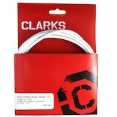 Clarks Stainless Steel Universal Front & Rear Brake Kit 2P Type Housing