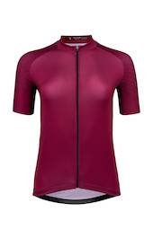Carnac Women's Short Sleeve Jersey / Burgundy