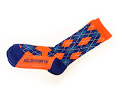 Holdsworth Argyle Thicky Merino Cycling Socks