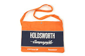 Holdsworth Team Edition Orange & Blue Podium Canvas Musette
