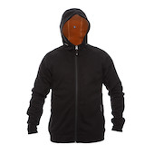 On-One Heavyweight Angora Wool Micro Fleece Bonded Hooded Jacket