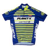 Planet X Team Carnac Childrens Short Sleeved Jersey