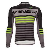 Viner Atomic Stripe Long Sleeve Jersey