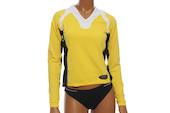 Vermarc Long Sleeved V Neck Supplex Ladies Jersey
