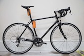 Holdsworth Brevet 853 Audax Bike / Medium / Matt Black / Rival 22