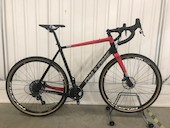 On-One Free Ranger SRAM Force 1 Gravel Bike / Extra Large (58) / Black And Red