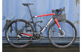 On-One Free Ranger Rival 1 Gravel Bike - X Large - Black and Red - EURO BRAKE