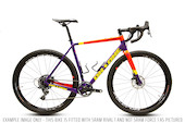 On-One Free Ranger SRAM Rival 1 Gravel Bike / Large / Purple And Red
