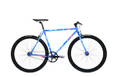Atala Queens Single Speed Bike / Blue / One SIze 54cm / Scratch Down Tube And Fork