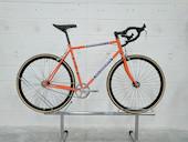 Holdsworth La Quelda Steel Single Speed Drop Bar Mens / Large / Team Orange