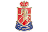 Holdsworth Brass Head Badge