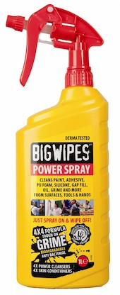 Big Wipes Power Spary Cleaner