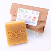 Caria Natural Goats Milk Oatmeal Almond Honey Soap Bar