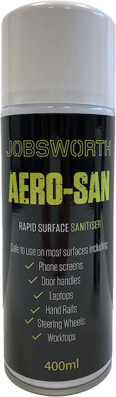 Jobsworth Aerosan Rapid Surface Sanitiser