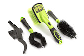 Jobsworth Full Monty 4 Piece Bike Cleaning Brush Set