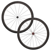 Planet X CT45 Carbon Tubular Wheelset