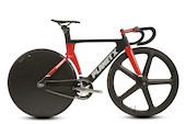 Planet X Koichi San Elite Aero Carbon Track Bike Small Black And Red USED