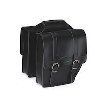 Selle Monte Grappa Borsa Cruiser Leatherette Pannier Bags- Pair