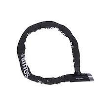 Squire Mako Sold Secure Silver Combination Chain Lock