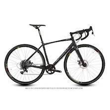 Planet X Bargain Bike 66 - London Road Apex 1 - Large - Stealth Black