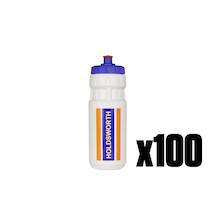 100 Holdsworth Water Bottle Trade Pack - 100 Bottles