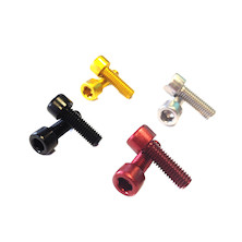 Alloy 7075 Bottle Cage Bolt Kit M5 X 16mm (Pair)