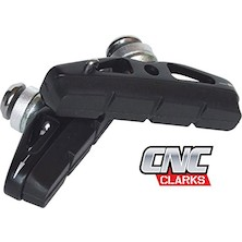 Clarks Elite CNC Machined Road Brake Shoes Compatiable With All Major Brake Pad Systems