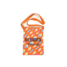 Holdsworth Orange Ice Cream Canvas Beach Bag