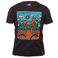 On-One Mombassa Bicycle Tour Short Sleeved T Shirt