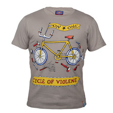 On-One Mombassa Cycle Of Violence Short Sleeved T Shirt