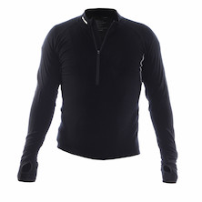 On-One Merino Perform Half Zip Long Sleeve Cycling Jersey