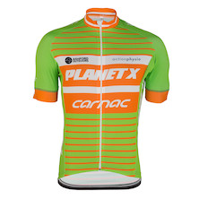 Planet X Team Carnac Irish Champion Short Sleeve Jersey