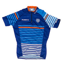 Planet X Midnight Stripe Childrens Short Sleeved Jersey