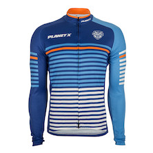Planet X Midnight Stripe Long Sleeve Jersey