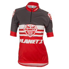 Planet X Shield  Women's Short Sleeve Jersey