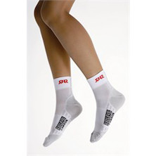 Red Level Carbon Cycling Socks