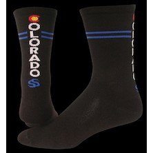 "Save Our Soles Colorado Bamboo 5"" Merino Compression Socks"