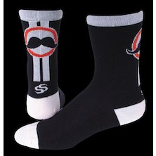 "Save Our Soles Handlebar 5"" Merino Wool Socks"