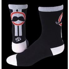 "Save Our Soles Handlebar 5"" Merino Wool Socks"