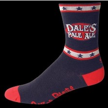 "Save Our Soles Oscar Blues Dales Pale Ale 5"" Merino Wool Socks"