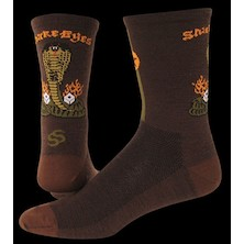 "Save Our Soles Snake Eyes 5"" Merino Wool Socks"