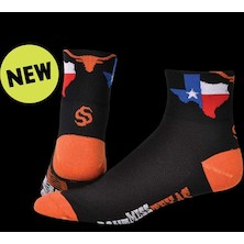 Save Our Soles Texas Orange Coolmax Socks