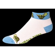 Save Our Soles Turtle Time By Hannah Womens Coolmax Socks