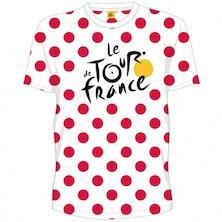 Tour De France Pois Rouge T Shirt