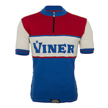 Viner Retro Short Sleeve Merino Jersey Made By Soigneur NZ